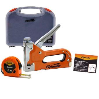 Grampeador Com Ajuste Pressão e Acessórios 6 a 14mm 4200355 Sparta