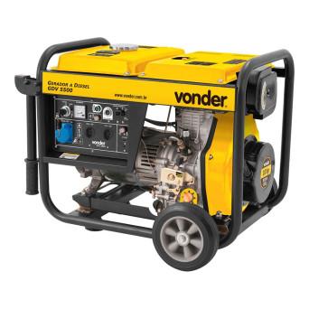 Gerador a diesel GDV5500 Vonder