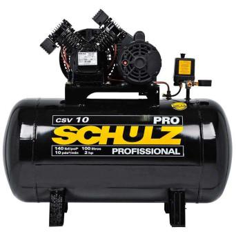 Compressor de Ar 2HP 100L CSV10PRO Schulz