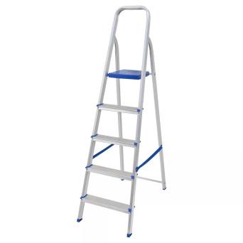 Escada Banqueta Alumínio Capacidade 120 kg 5 Degraus Mor