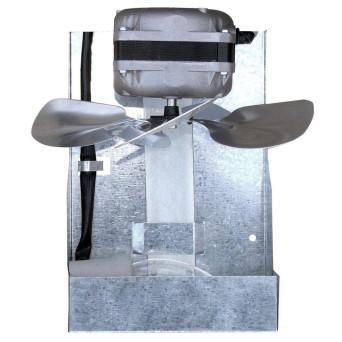 Exaustor Churrasqueira Hélice 200mm Com Iluminação Itc