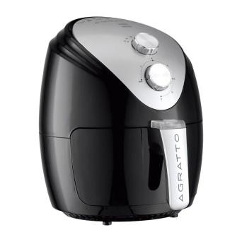 Fritadeira Elétrica sem óleo Fryer Silver AFS Agratto