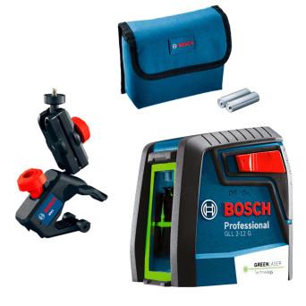 Nível Laser Verde Com Acessórios GLL212G Bosch