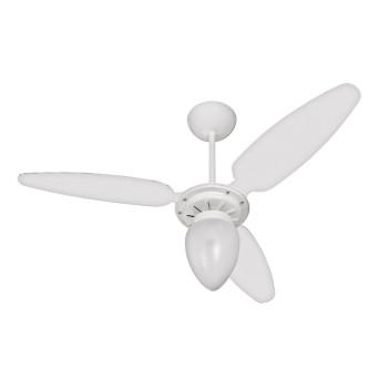 Ventilador de Teto Wind com Lustre 3 pás INJ/Branco CV3 Ventisol