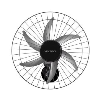 Ventilador Parede Oscilante 50cm 6 Pás 200w Bivolt Turbo 6 Steel Ventisol